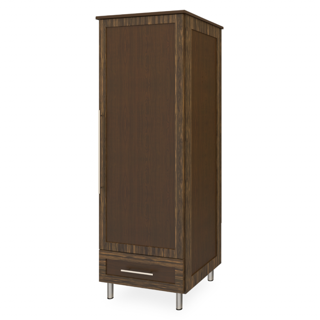 Tempe Single Wardrobe, 1 Drawer, 1 Door - Kwalu