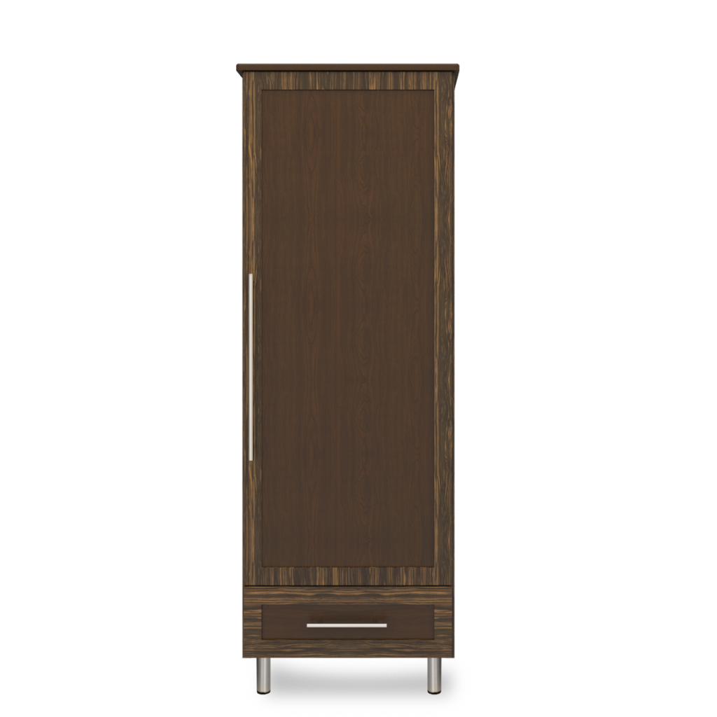 Tempe Single Wardrobe, 1 Drawer, 1 Door - Kwalu