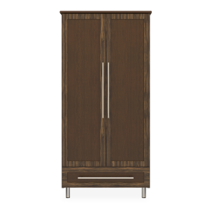 Kwalu product: Tempe Double Wardrobe, 1 Drawer, 2 Doors