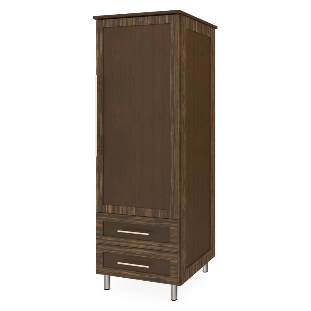 Tempe Single Wardrobe, 2 Drawers, 1 Door - Kwalu
