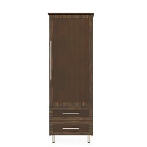 Kwalu product: Tempe Single Wardrobe, 2 Drawers, 1 Door