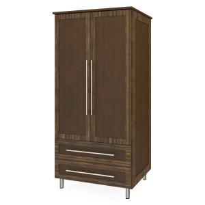 Kwalu product: Tempe Double Wardrobe, 2 Drawers, 2 Doors