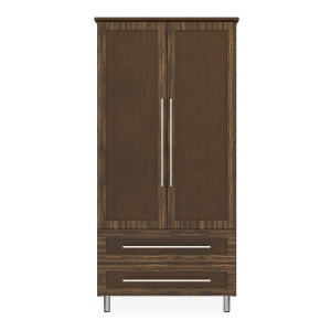 Kwalu product: Tempe Double Wardrobe, 2 Drawers, 2 Doors