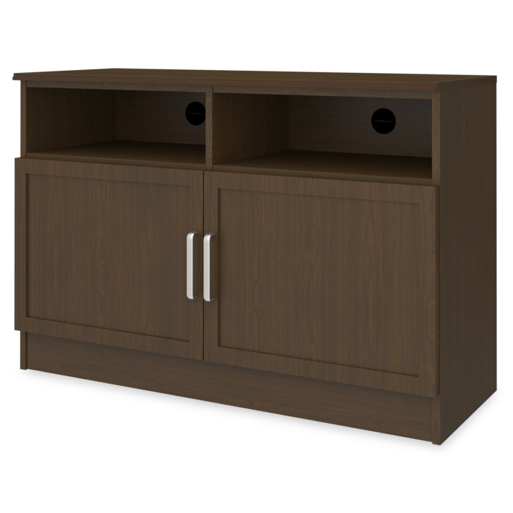 """Lancaster Media Console with Shelves –  48""""W - Kwalu"""
