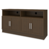 "Lancaster Media Console with Shelves – 60""W - Kwalu"