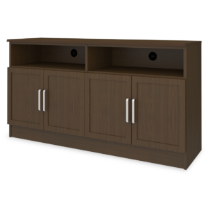 "Kwalu product: Lancaster Media Console with Shelves – 60""W"