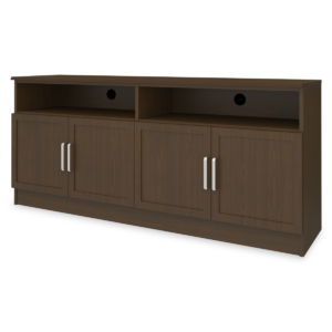 "Kwalu product: Lancaster Media Console with Shelves – 72""W"