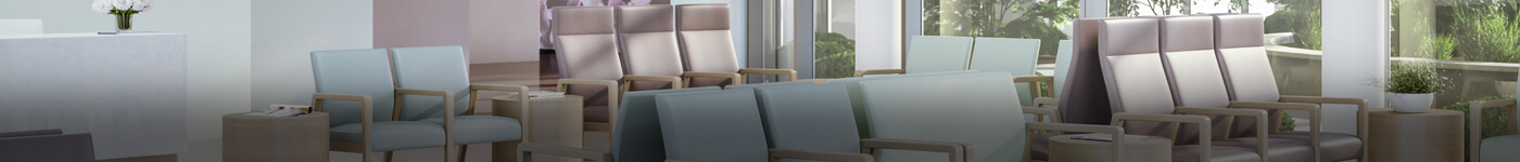 Kwalu HCD Chairs in waiting room