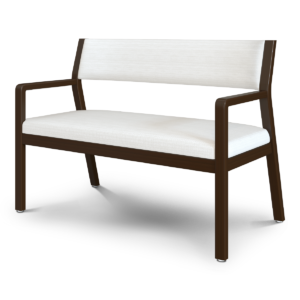 Kwalu product: Caterina Bariatric Guest – 46W Upholstered Back